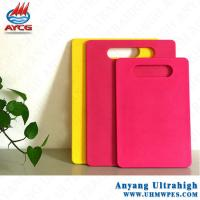 Buy cheap food grade 100% virgin UHMW pe cutting board plastic/cutting board for pizza/custom made chopping block from wholesalers