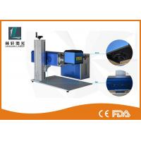Wholesale Leather Mini Laser Engraving Machine , High Speed Portable CO2 Laser Marker from china suppliers