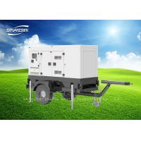 Genset Mobile Diesel Generator Trailer Power Station 25kVA 27kVA