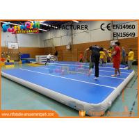 Wholesale 0.9mm PVC Tarpaulin Jumping Inflatable Gym Airtrick Mat / Blow Up Tumbling Mat from china suppliers