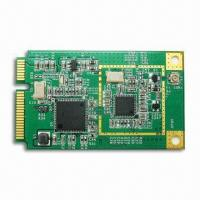 Buy cheap Mini PCI-E DVB-T TV Tuner Module, Suitable for Laptop PC, Supports H.264/MPEG-2 or Mixed MPEG-1/AC-3 from wholesalers