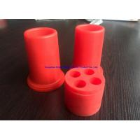 50 - 55Duro Red Resistant High Voltage Silicone (179C) End Plug Manufactures