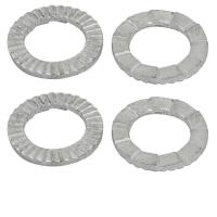 Buy cheap SS 304 316 Safety Serrated Lock Washer Silver Tone ISO9001 Certification from wholesalers