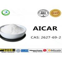 Buy cheap 98% Purity Aicar Weight Loss Powder Solid Raw Material For Body Building CAS 2627-69-2 from wholesalers