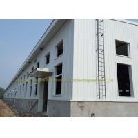 Buy cheap Industrial Construction Workshop Steel Structure Buildings Hot Dip Galvanised from wholesalers