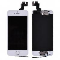 Wholesale LCD with Touch Screen Digitizer& Gold Home Button& Front Camera with Frame for iPhone 5S from china suppliers