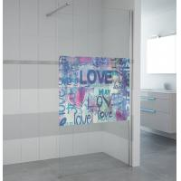 Buy cheap NEW product walk in shower bath screen 6817 from wholesalers