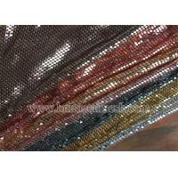 Buy cheap Metal Mesh Sequin Chain Fabric from wholesalers