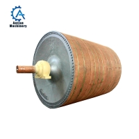 Wholesale Paper Machine Parts Wheat Straw Pulp Dryer Cylinder Steam Single Dryer Cylinder from china suppliers