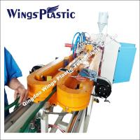 Buy cheap Automatic pipe threading machine corrugation pipe manufacture machinery from wholesalers