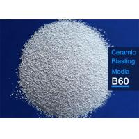Buy cheap Size B60 Ceramic Microbeads 700 HV Hardness For Industrial Aluminum Alloy Sandblasting from wholesalers