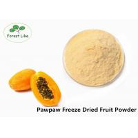 Buy cheap Anticancer Effect PawPaw Freeze Dried Fruit Powder Pure Natural from wholesalers