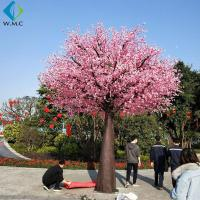 Buy cheap 5m Height Indoor Fake Peach Tree , Wedding Flower Tree 5-10 Years Life Time from wholesalers