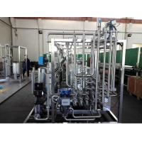 Full Automatic 10 Ton Pasteurization Machine for Dairy Juice Milk Manufactures