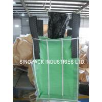 Buy cheap Powder packing 4-Panel baffle bag 1000KGS OF 100% virgin green PP fabric product