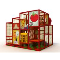 Buy cheap Daycare Soft Indoor Playground Equipment Safety With Big Spiral Slide And Ball Pit from wholesalers
