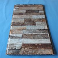Buy cheap Home Building Plastic Composite Siding Panel Faux Marble Design Eco Friendly from wholesalers