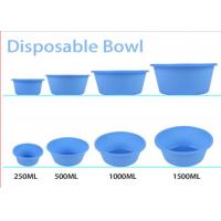 Buy cheap Medical Disposable Kidney Dish , Blue Disposable Bowls Surgical Plastic Standard from wholesalers