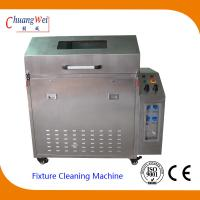 Wave Solder smt cleaning equipment , pallet washer machines with 3 Levels Filter System Manufactures