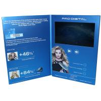 Buy cheap VIF Free Sample Magnetic switch graduations digital video brochure 7 inch  with A4 / A5 paper for business invitations from wholesalers