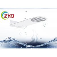 Buy cheap Solid Surface Square Hand Shower Head Ultra Thin Brushed Steel Material from wholesalers