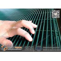 Buy cheap Anti climb and cut green powder coated  Hight Security 358 Welded Mesh Fencing from wholesalers