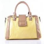 Buy cheap Real leather Lady Handbag Inside zipper/phone/functional inside pocket Flip cover 15cm handle Adjust from wholesalers