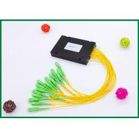 Buy cheap 16 Channel Pigtailed ABS Plastic Box Dwdm Multiplexer With LC SC FC ST Connectors from wholesalers
