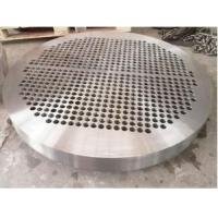 Buy cheap Inconel ALloy 625/UNS N06625 +SA266 Gr4/Gr2 Bimetallic Clad/Cladding Tube Sheets Tubesheet from wholesalers