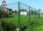 Buy cheap OEM 50x100mm Welded Wire Mesh Panel Round Tubular Post iron from wholesalers
