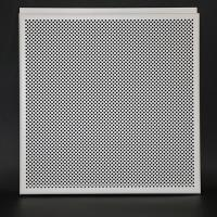 Buy cheap White Aluminum Perforated Hook Drop Suspended Metal Ceiling Tiles Non - Flammable from wholesalers