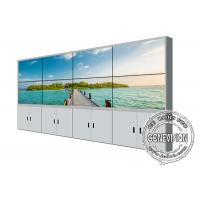 Buy cheap 55inch Video Wall Samsung TV Screen Display 4*4 Floorstand Cabinet LCD Panels Narrow Bezel from wholesalers