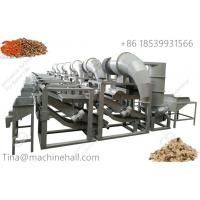 Hemp kernel shelling and sorting production line for sale