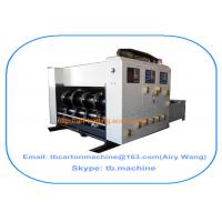 Buy cheap multi color optional Flexo printing slotting machine popular size 1450*2500mm from wholesalers