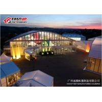 Buy cheap High Reinforce Frame Clear Span Tent For Conferences Tear Resistant from wholesalers