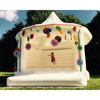 Buy cheap Custom Made Carpa Hinchable Inflatable Party Tent White Bouncy Castle For from wholesalers