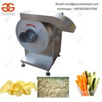 Buy cheap Potato Chips Cutter with High Efficiency|Best Potato Chips Cutting Machine for Sale from wholesalers