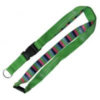 Buy cheap Cool Fashion Woven Lanyards Personalized High Density Skin Friendly from wholesalers