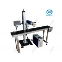 Buy cheap Fiber Laser Engraving Marking Machine Line Flying 20W 30W 50W Raycus from wholesalers