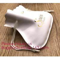 Buy cheap Custom Faux Black PU Leather Pouch, Leather Pouch Bag,PU Leather Pouch,Handmade PU Drawstring Bags, Ultra-thin Soft Full from wholesalers