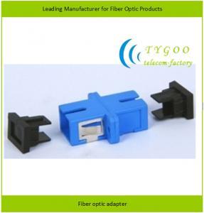 SC/PC Singlemode Simplex Fiber Optic Adapter Manufactures