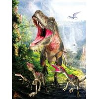 Wholesale Dinosaur 3D Decoration Pictures 0.75mm Thickness Environmentally Friendly from china suppliers