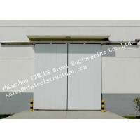 Buy cheap Customized Industrial Metal Sliding Door Steel Buildings Kits Single Direction For Warehouse from wholesalers