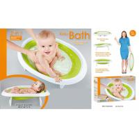 Buy cheap 27  Foldable Baby Bathtub Newborn Toys Green Pink Blue Gift 0 Month from wholesalers