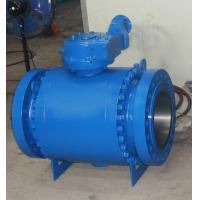 Buy cheap 1500LB/2500LB Flanged High Pressure Forged Steel trunnion mounted ball valve from wholesalers