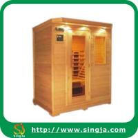 Wholesale Luxury Hemlock Infrared Sauna Room(ISR-08) from china suppliers