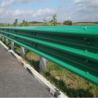 Buy cheap Thrie-beam guardrail part for highway guardrails, hot dipped galvanized finish from wholesalers