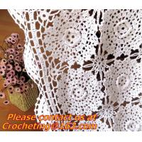 Buy cheap Crochet Round table clothing - table coverhandmade crochet heart doilies, blanket, clothes from wholesalers