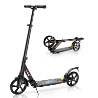 Buy cheap Front ROHS Two Wheel Kick Scooter 120kg Adult Folding Kick Scooter from wholesalers