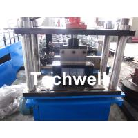 0.4 - 1.0mm Steel Wall Angle Roll Forming Machine With 60mm Axis Diameter Manufactures